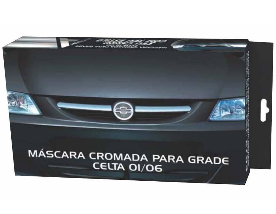 MASCARA CROMADA GRADE CELTA 00 01 02 03 04 05 06