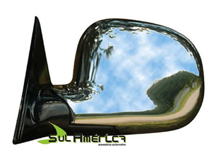 CAPA RETROVISOR CROMADO GM S10 BLAZER 96/11 LE ORIGINAL