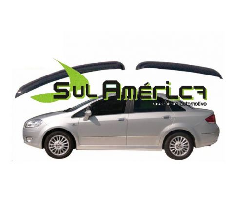CALHA DE CHUVA FIAT LINEA 08 09 10 11 12 13 14 15 16 4P FUME