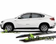 FRISO LATERAL CROMADO BMW X6 09 10 11 12 13 14 15 MODELO CLA