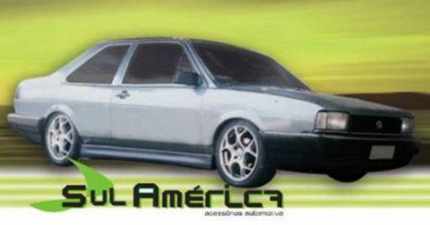JOGO DE SPOILER LATERAL VW SANTANA 85/90 PTO