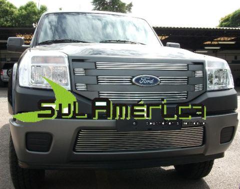 SOBRE GRADE CROMADA RANGER 2009 2010 2011 2012 4X2 ALUMINIO  - Sul Acessorios