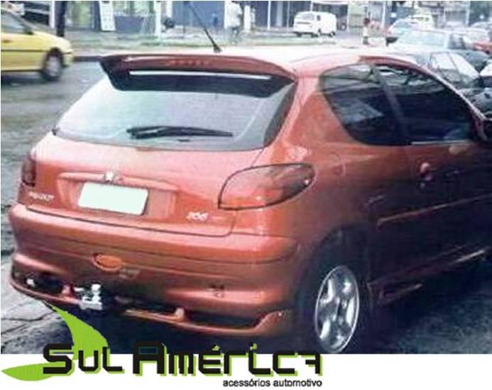 SPOILER TRASEIRO PEUGEOT 206 99 2000 2001 2002 2003 2004 200 - Sul Acessorios
