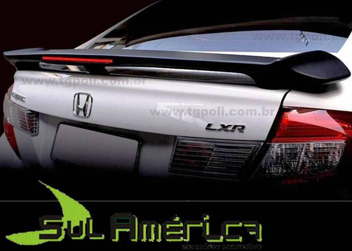 AEROFOLIO HONDA NEW CIVIC LXS LXR 2013 2014 2015 2016 30LEDS