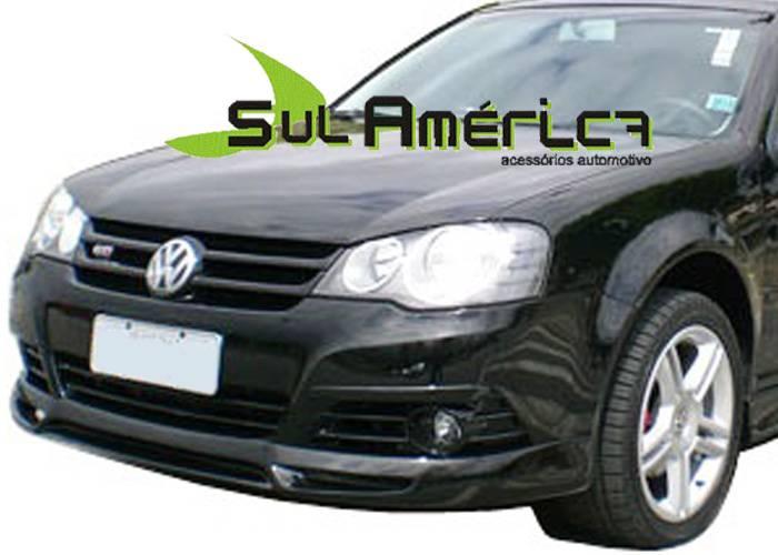 SPOILER DIANTEIRO VW NOVO GOLF 07 08 09 10 11 12 13 SPORT - Sul Acessorios