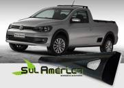 JOGO DE SPOILER LATERAL VW SAVEIRO G5 G6 10 11 12 13 14 15 1