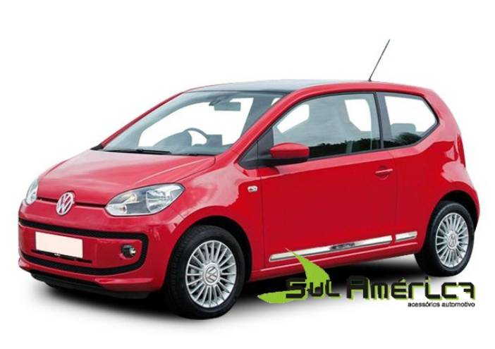 FRISO LATERAL VW UP 2014 2015 2016 CROMADO (4PÇ´S)