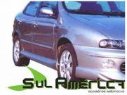 SPOILER LATERAL FIAT BRAVA MAREA 97 98 99 00 01 02 03 04 05 06 07 | Sul Acess�rios