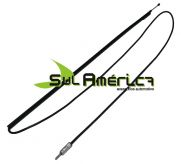 ANTENA FUNCIONAL FIAT UNO BLACK RETRATIL C/ PLUG - 1005mm