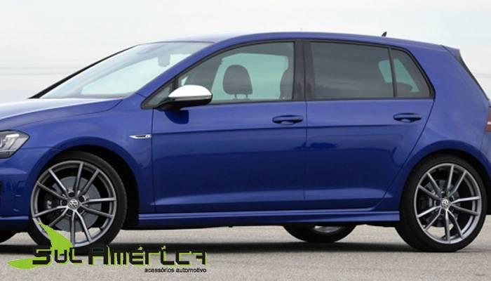 JOGO DE SPOILER LATERAL VW NOVO GOLF TSI GTI G4 2013 2014 20