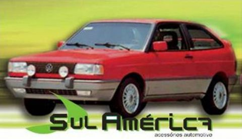 JOGO DE SPOILER + FRISO LATERAL VW GOL GT GTS 90 91 92 93 94 - Sul Acessorios