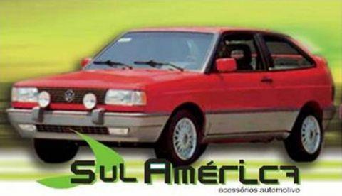 JOGO DE SPOILER + FRISO LATERAL VW GOL GTi CINZA/PRATA 90/94 - Sul Acessorios