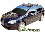 RACK DE TETO POLO 2003 A 2017 ALUMINIO PRETO SPORTS