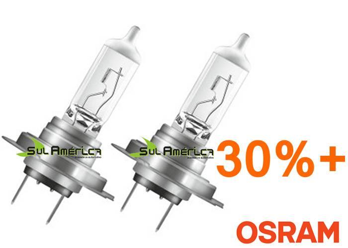 JOGO LAMPADA H4 12V 55W AMARELA SUPER + 30% OSRAM (2PÇ?S)