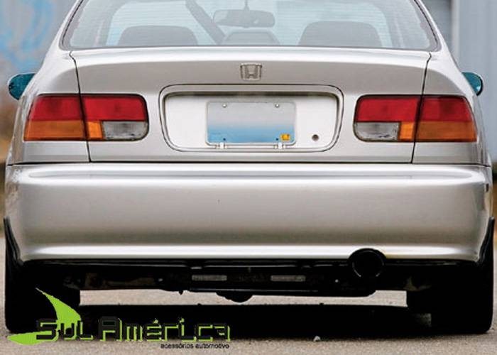 PARACHOQUE TRASEIRO HONDA CIVIC 1996 1997 1998 SEDAN