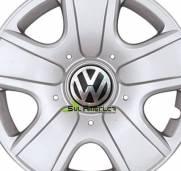 EMBLEMA CALOTA VW POLO AUTO RELEVO 90mm - 4PÇ´s
