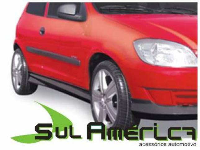 SPOILER LATERAL GM CELTA G1 G2 2000 A 2015 MODELO SPORT