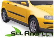 SPOILER LATERAL FIAT STILO 03 04 05 06 07 08 09 10 11 PRETO | Sul Acess�rios
