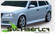 JOGO DE SPOILER LATERAL VW GOL / PARATI G4 05/13