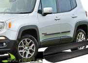 FRISO LATERAL JEEP RENEGADE 15 16 PRETO EMBORRACHADO