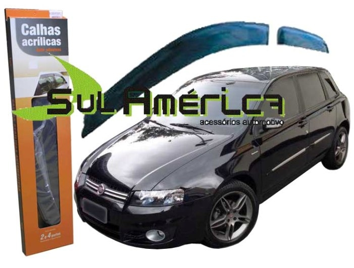 CALHA DE CHUVA FIAT STILO 2003 2004 2005 2006 2007 2008 2009