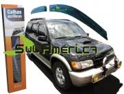CALHA DE CHUVA KIA SPORTAGE 97 98 99 00 01 02 03 04 4P FUME ORIGINAL