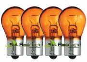 KIT LAMPADA PISCA AMBAR 12V 21W 1 POLO - ORIGINAL NEOLUX ALEMÃ (4PÇ?S)