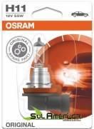 LAMPADA H11 12V 55W FAROL AUXILIAR PUNTO ORIGINAL OSRAM