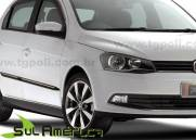 JOGO DE SPOILER LATERAL VW NOVO GOL VOYAGE G5 G6 G7 08/16 PR
