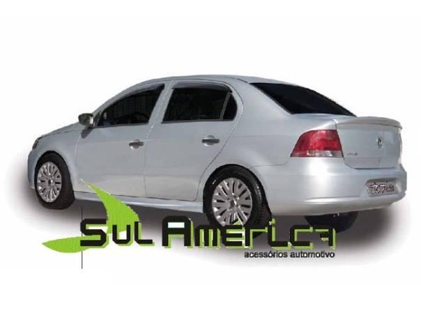 JOGO DE SPOILER LATERAL VW NOVO GOL VOYAGE G5 G6 G7 08/16 PR - Sul Acessorios