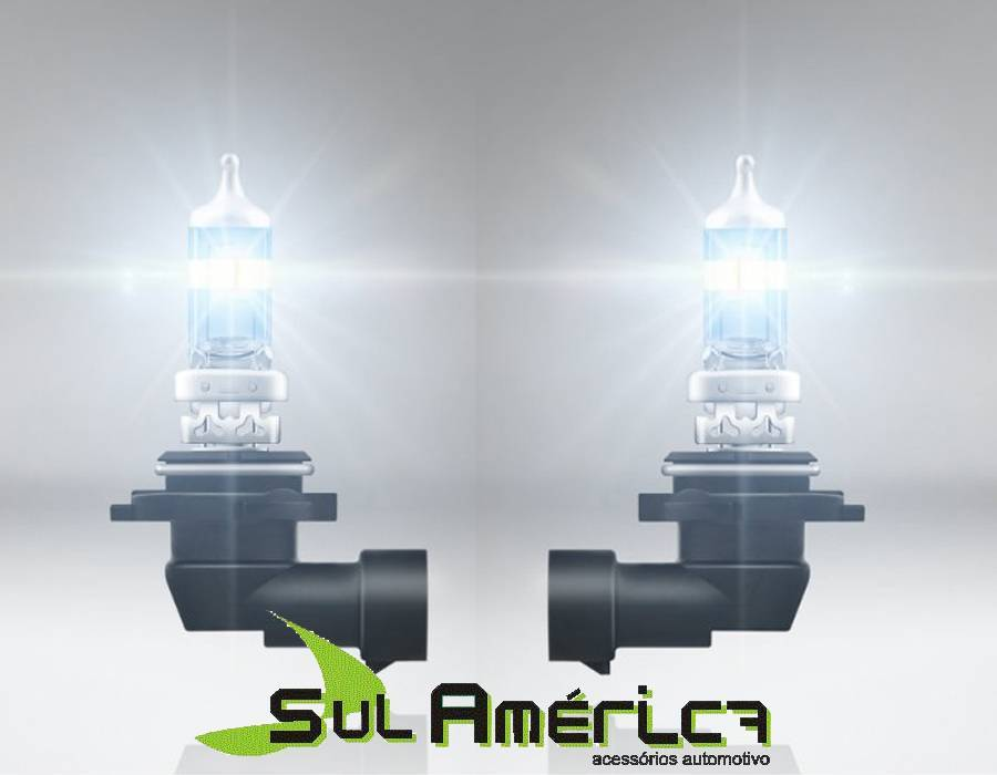 JOGO LAMPADA HB4 SUPER BRANCA 12V 55W 5000K (PAR) - Sul Acessorios
