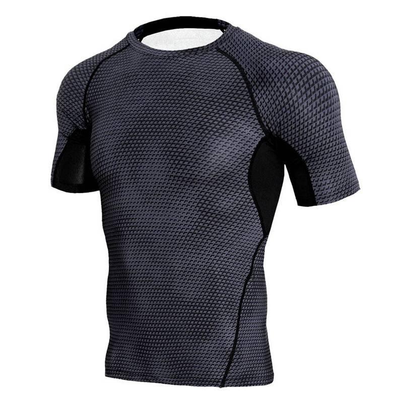 Camisa Masculina Fitnes Musculação Manga Curta Preta