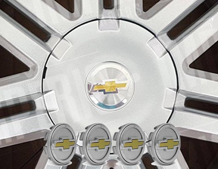 SUB CALOTA RODA ASTRA VECTRA CRUZE PRATA DOURADO 51mm 4PEÇAS - Sul Acessorios
