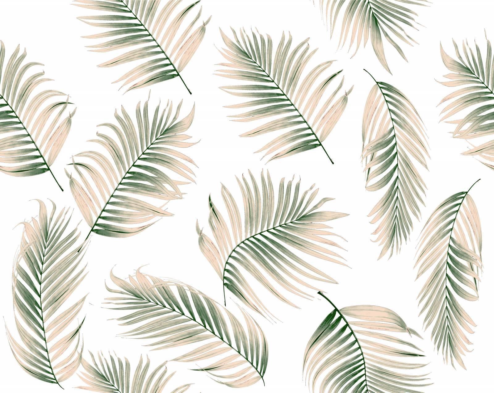 Papel de Parede Folha de Palmeira | Adesivo Vinílico imagem 1