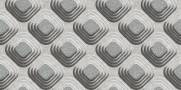 imagem do Papel de Parede Texturizado 3D Carousel Cinza