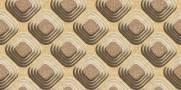 imagem do Papel de Parede Texturizado 3D Carousel Marron