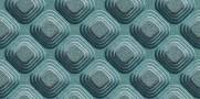 imagem do Papel de Parede Texturizado 3D Carousel Azul