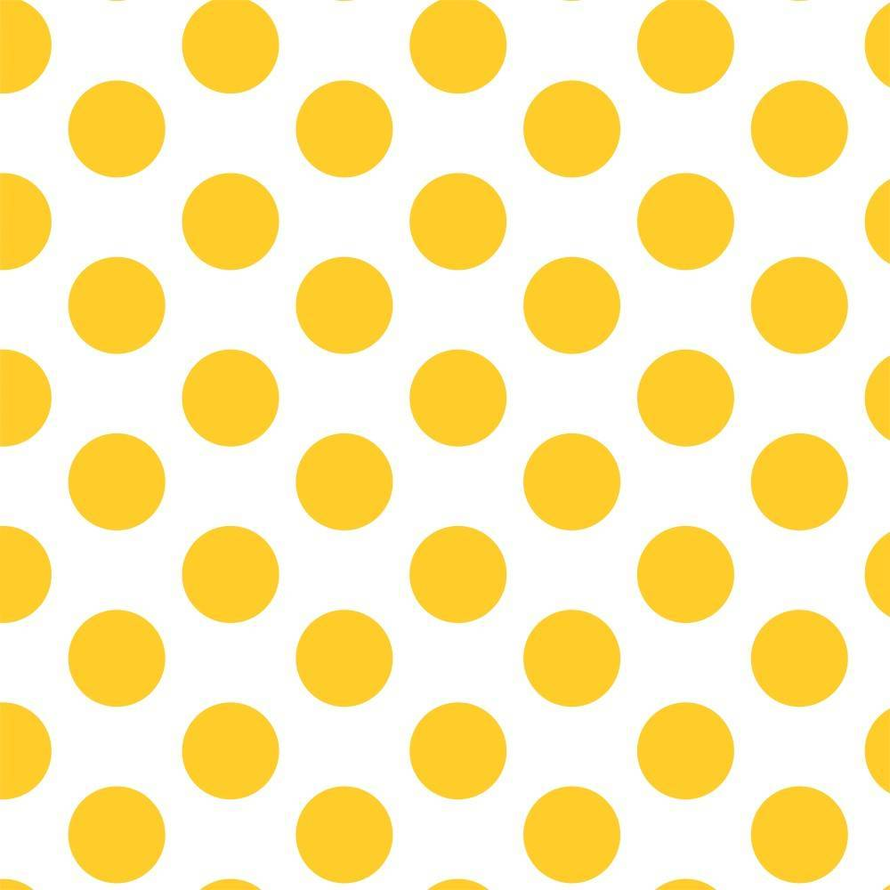 Papel de Parede Amarelo /Rolo  imagem 1