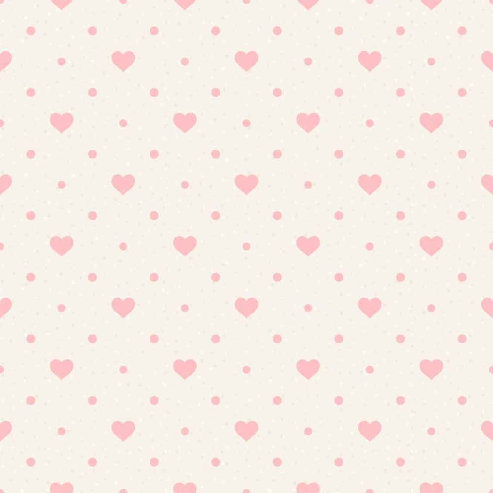 Papel de Parede Poá Love/Rolo  imagem 1