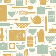 imagem do Papel de Parede Adesivo Gourmet  /Rolo
