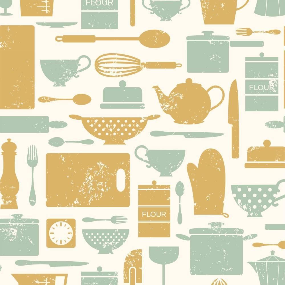 Papel de Parede Adesivo Gourmet  /Rolo imagem 1