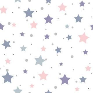 Papel de Parede Adesivo Stars/Rolo