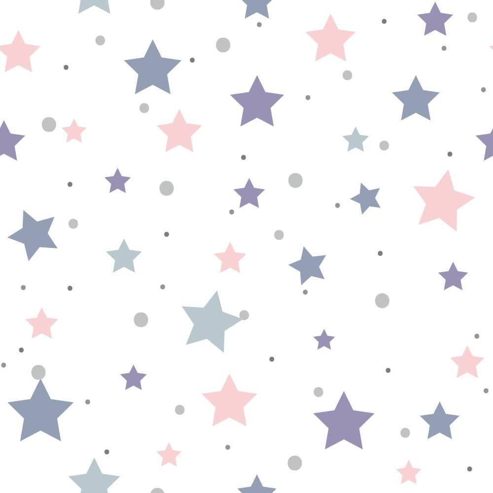 Papel de Parede Adesivo Stars/Rolo imagem 1
