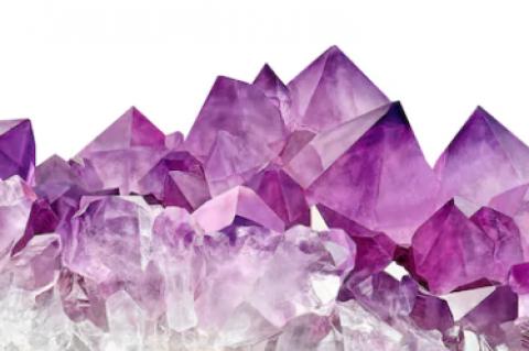 Quadro Cristal Violeta 40x60  imagem 1