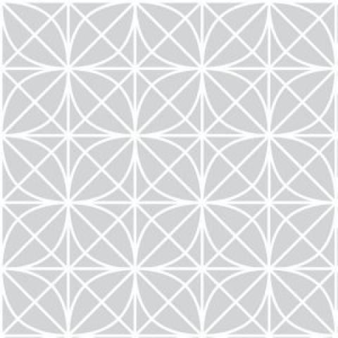 Papel de Parede Adesivo Geométrico Treliça Cinza/Rolo - Redecorei
