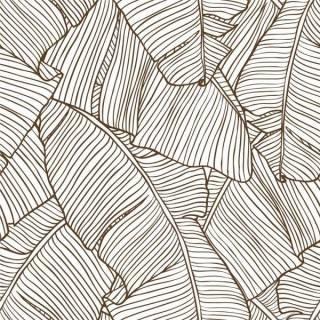 Papel de Parede Folhas de Bananeiras | Adesivo Vinílico