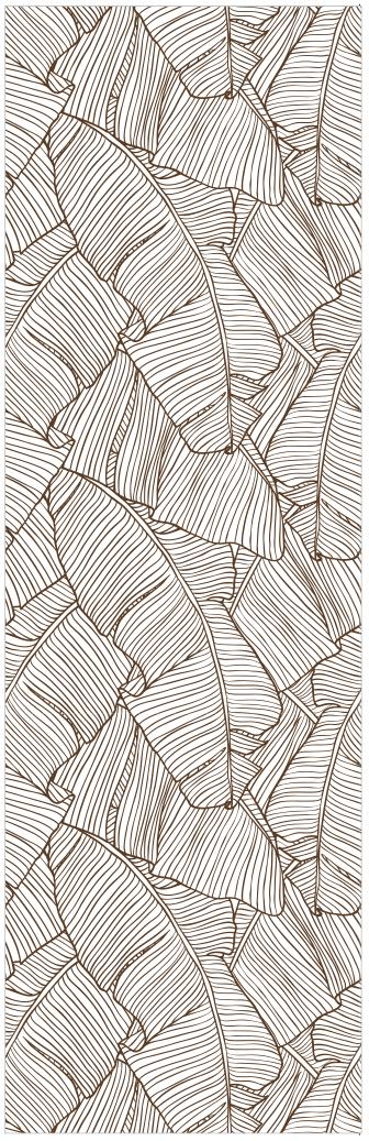 Papel de Parede Folhas de Bananeiras | Adesivo Vinílico imagem 4