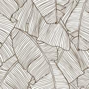 imagem do Papel de Parede Folhas de Bananeiras | Adesivo Vinílico
