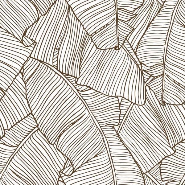 Papel de Parede Folhas de Bananeiras | Adesivo Vinílico imagem 1