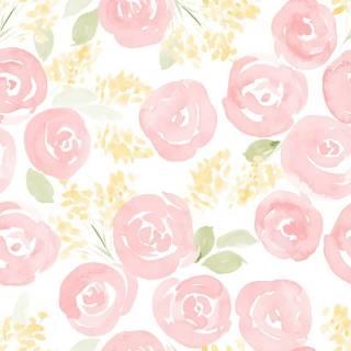 Papel de Parede Rose | Adesivo Vinílico